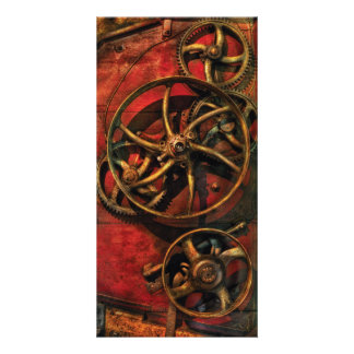 Steampunk - Clockwork Card