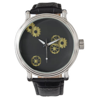 Steampunk Clockwork Men's Watch