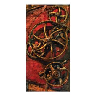 Steampunk - Clockwork Photo Cards
