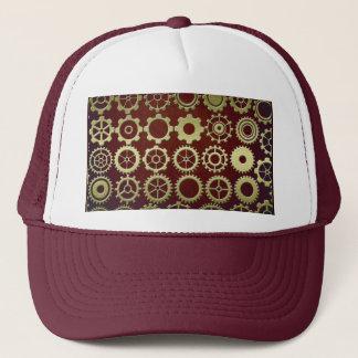 Steampunk Cogs and Gears Art Trucker Hat