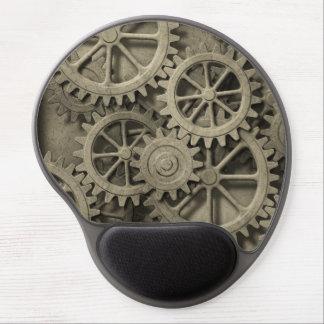 Steampunk Cogwheels Gel Mouse Pad