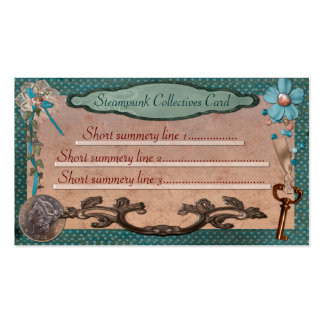 Steampunk Collectives for Web or Local Business Pack Of Standard Business Cards