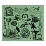 Steampunk College Number 2 Poster