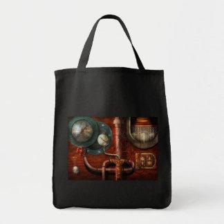 Steampunk - Controls Canvas Bags