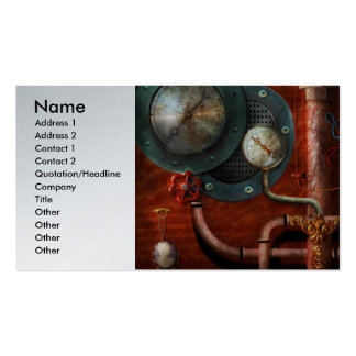 Steampunk - Controls Pack Of Standard Business Cards