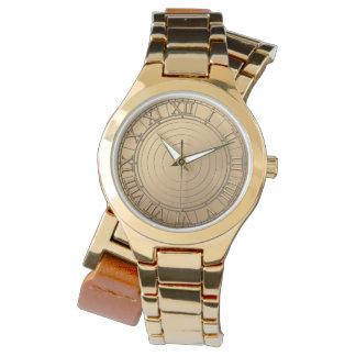steampunk copper like watch