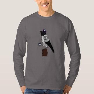 Steampunk Crow Tshirts