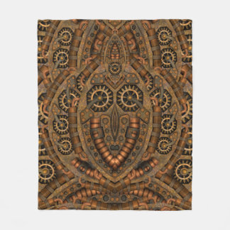 Steampunk Custom Fleece Blankets