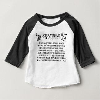 Steampunk Definition Baby T-Shirt