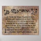 Steampunk Definition Poster