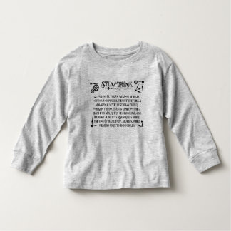 Steampunk Definition Toddler T-Shirt