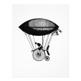 Steampunk derigicyclist 21.5 cm x 28 cm flyer