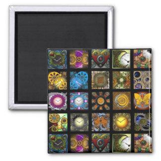 Steampunk Designs Magnet