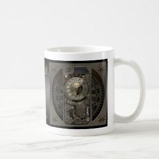 Steampunk Device - Rotary Dial Phone. Basic White Mug