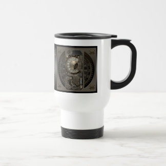 Steampunk Device - Rotary Dial Phone. Stainless Steel Travel Mug