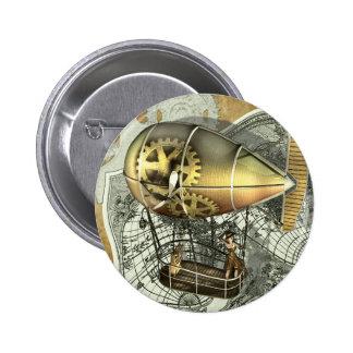 Steampunk Dirigible Air Tour Button