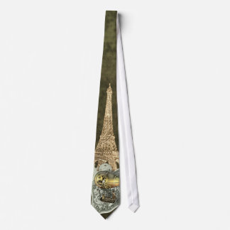 Steampunk Dirigible Air Tour Necktie