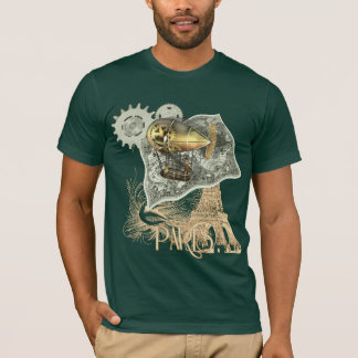 Steampunk Dirigible Air Tour T Shirt