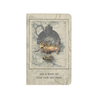 Steampunk Dirigible Balloon Ride Journal