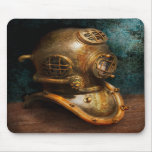 Steampunk - Diving - The diving helmet Mousemats