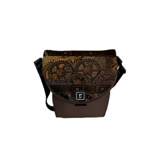 Steampunk Dry Messenger Bag