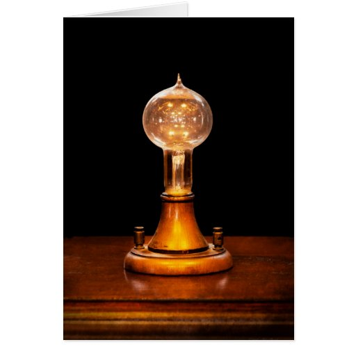 Steampunk - Electricity - Bright ideas Greeting Card
