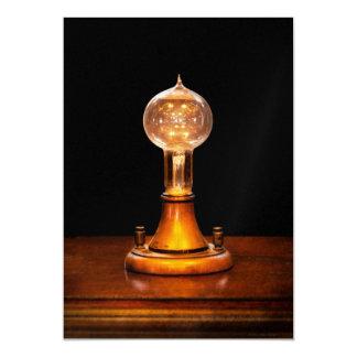 Steampunk - Electricity - Bright ideas Invitations