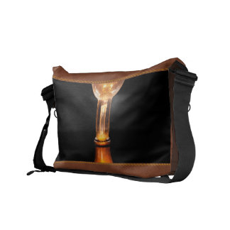 Steampunk - Electricity - Bright ideas Courier Bags