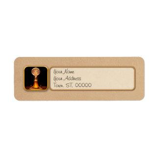 Steampunk - Electricity - Bright ideas Return Address Label