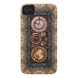 Steampunk Elegant Vintage Timepiece iPhone 4 Case