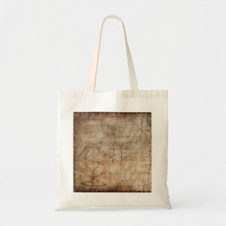 Steampunk Explorer's Budget Tote Bag