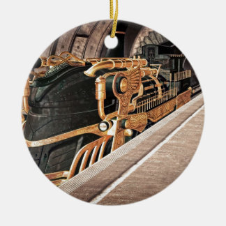 Steampunk Express Christmas Ornament