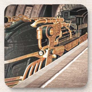 Steampunk Express Coasters