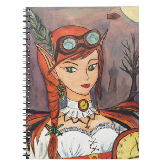 Steampunk Fairy  Fantasy Art Notebook