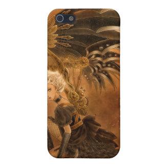Steampunk Fallen Angel iPhone 4 Case