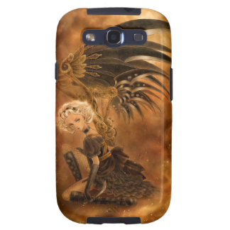 Steampunk Fallen Angel Samsung Galaxy Case