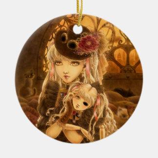 Steampunk Fantasy Ornament