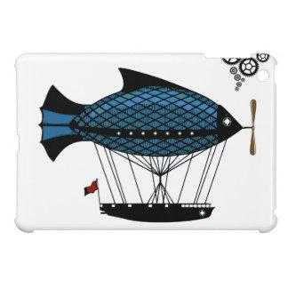 STeampunk fantasy Zeppelin Balloon ipad Mini case!