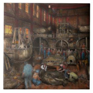 Steampunk - Final inspection 1915 Tile