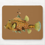 Steampunk Fish Mouse Pad