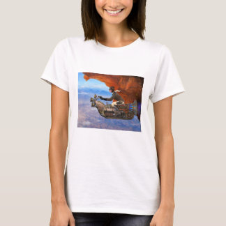 Steampunk Flying Machine T-Shirt