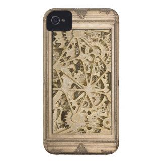 Steampunk Framed Gears iPhone 4 Case