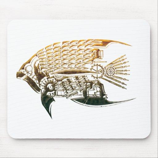 Steampunk fsh mousepad