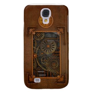 Steampunk Galaxy S4 Case