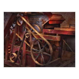 Steampunk - Gear - Belts and Wheels Full Color Flyer