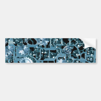 Steampunk Gears Bumper Sticker