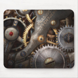 Steampunk - Gears - Horology Mouse Pad
