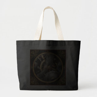 Steampunk - Gears - Horology Canvas Bags