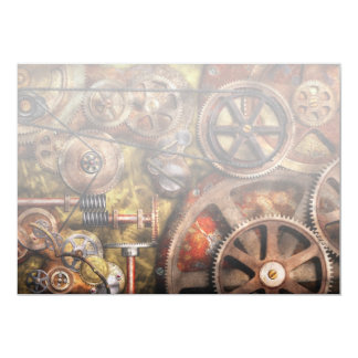 Steampunk - Gears - Inner Workings Card