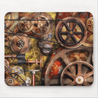 Steampunk - Gears - Inner Workings Mouse Pad